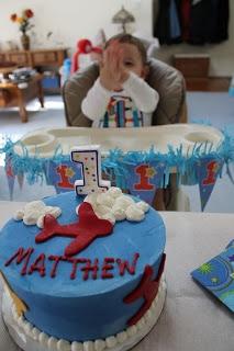 My little Man is 1!!