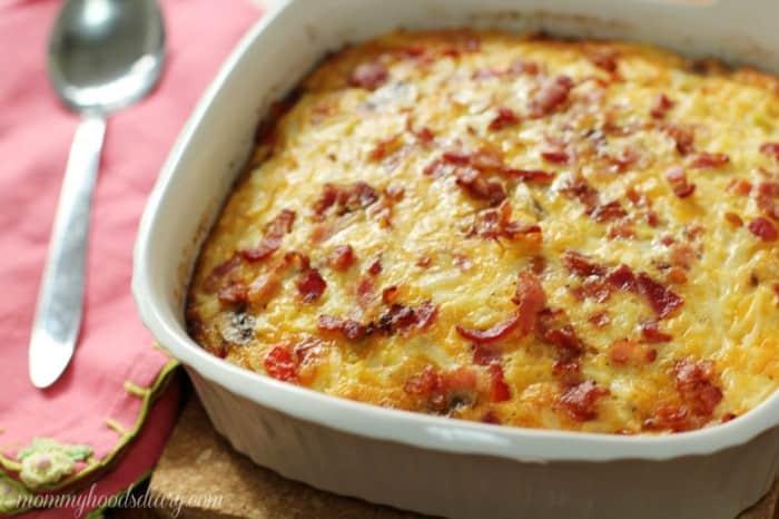 Egg, Bacon and Potato Breakfast Bake Recipe