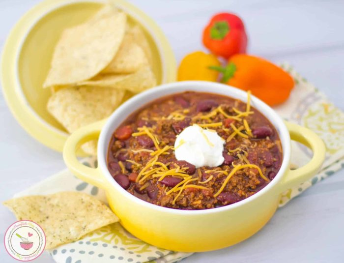 Easy Beef Chili | Mommyhood's Diary