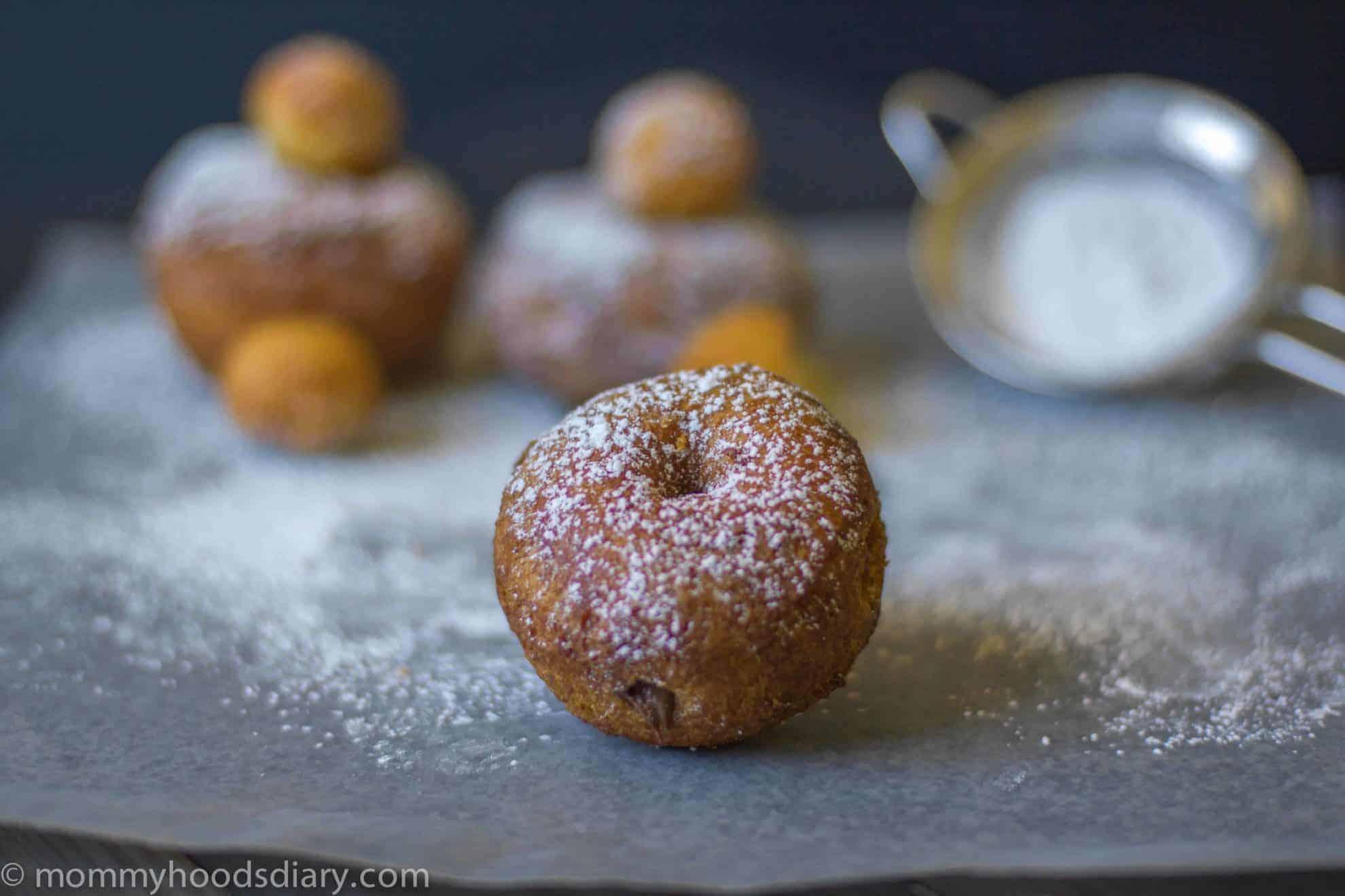 Easy Mini Nutella Cronuts