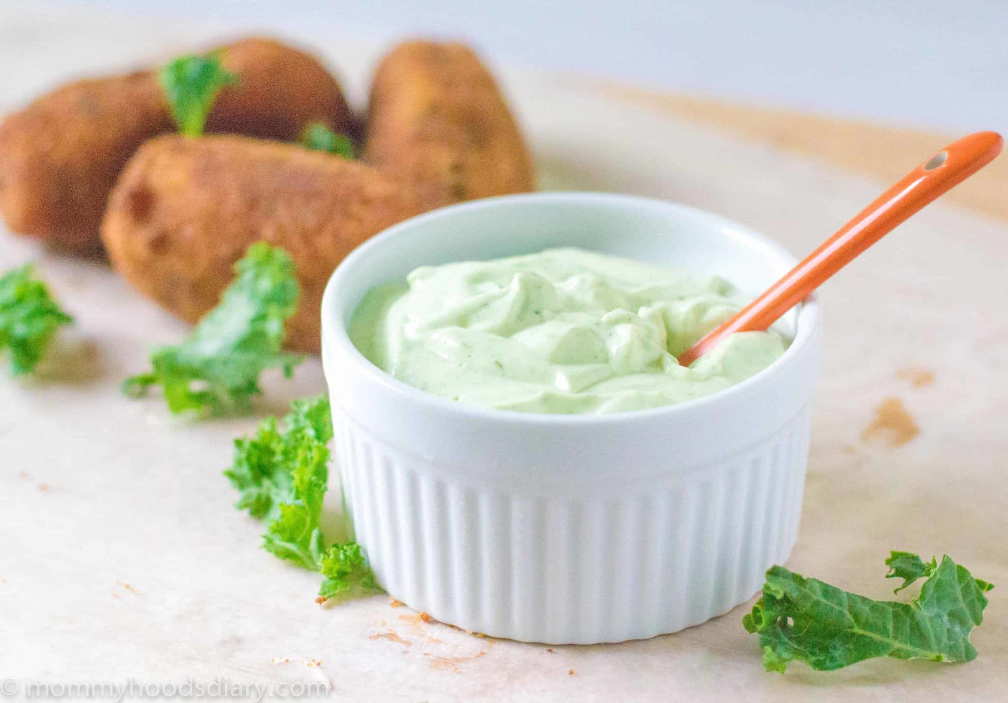 Spicy Cilantro Lime Mayonnaise