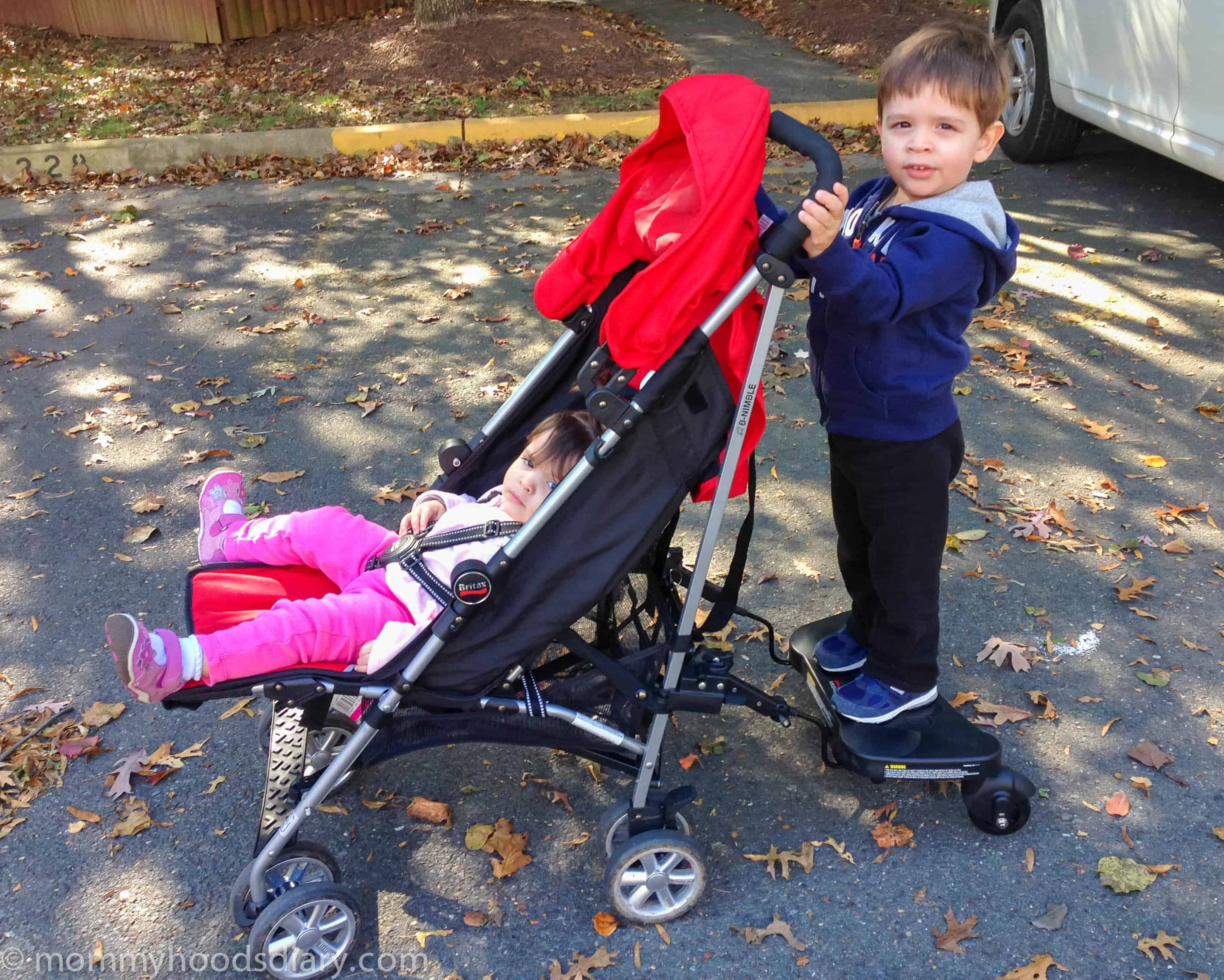 Britax Stroller Board: The Coolest Accessory #SafeConBritaxFamilies