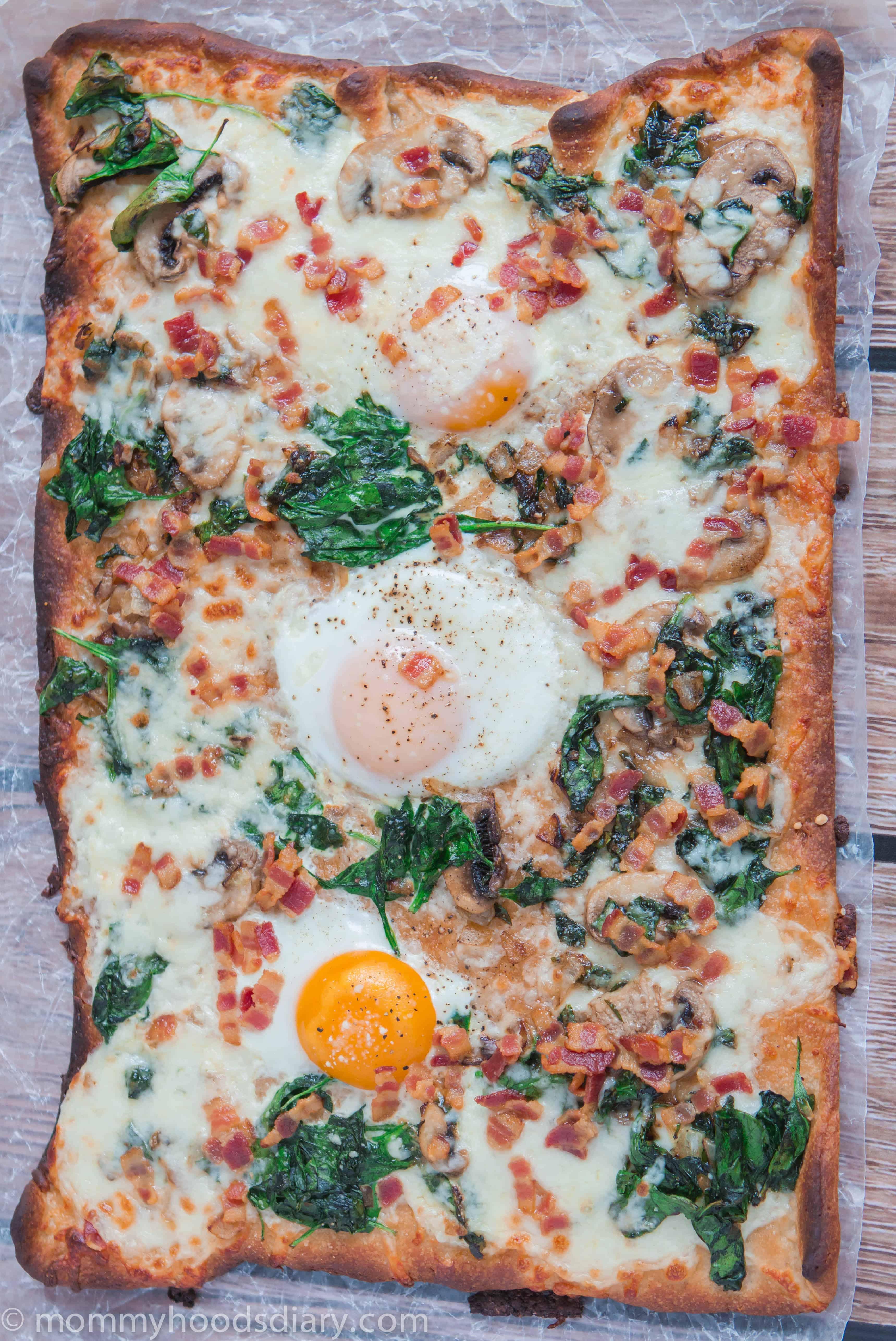 Pizza para el Desayuno