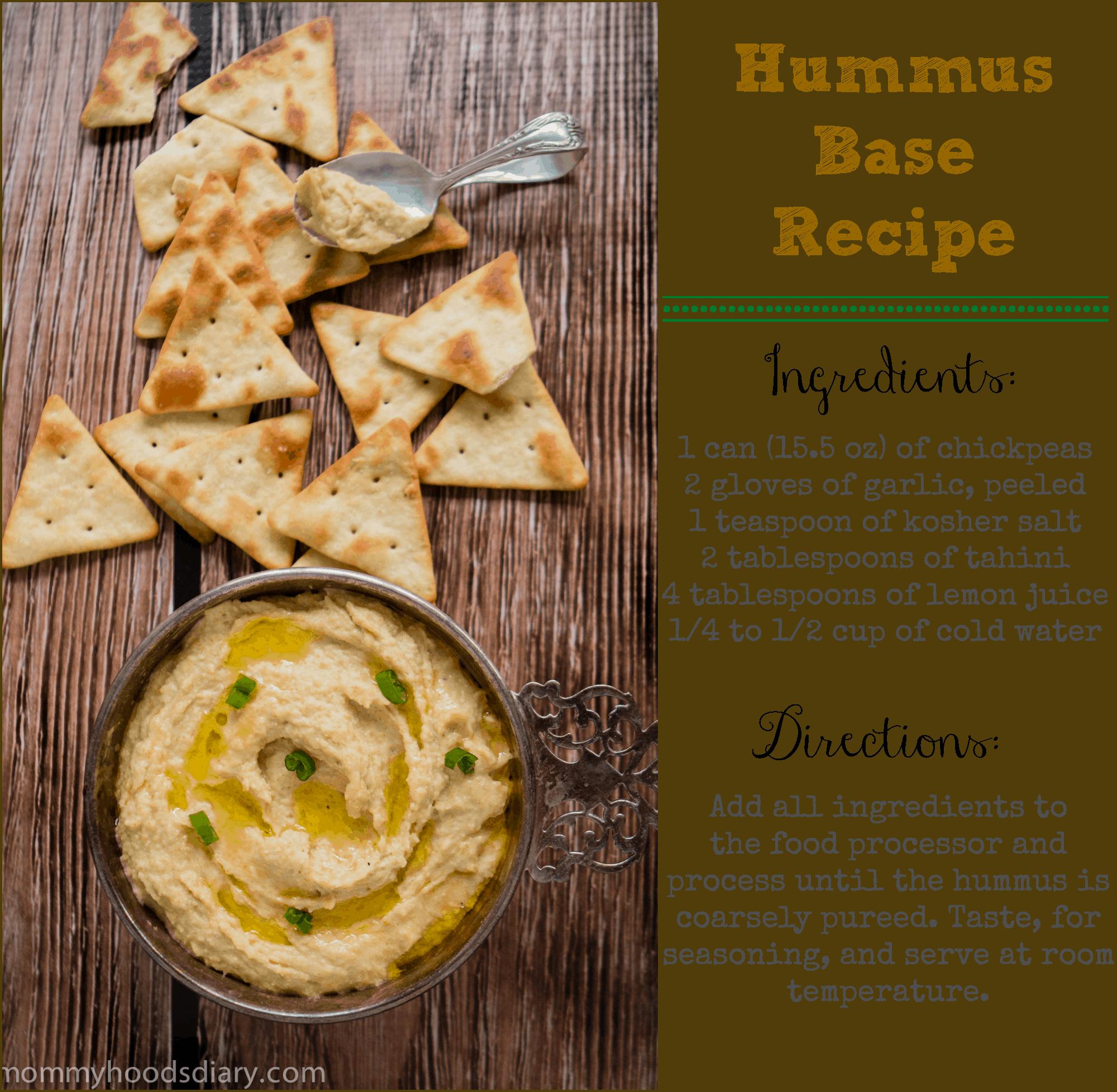 Hummus Base Recipe