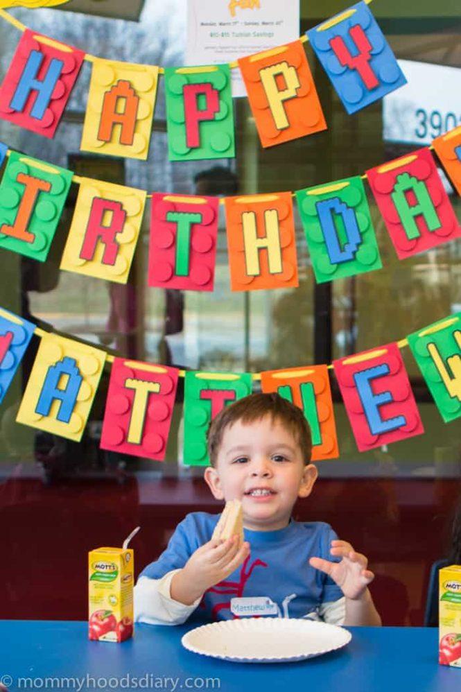 Matthew's 3rd Birthday Lego Party