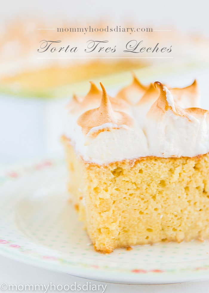 Torta Tres Leches | mommyshomecooking.com