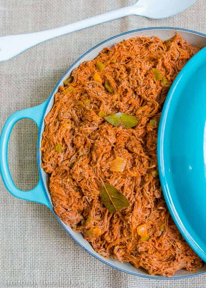 This Venezuelan Shredded Beef recipe is amazing! It's tender, juicy and so flavorful. Make a big batch and you can have something different with it for days. http://mommyshomecooking.com