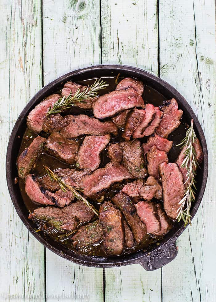 Grilled Balsamic-Garlic Steak | mommyshomecooking.com