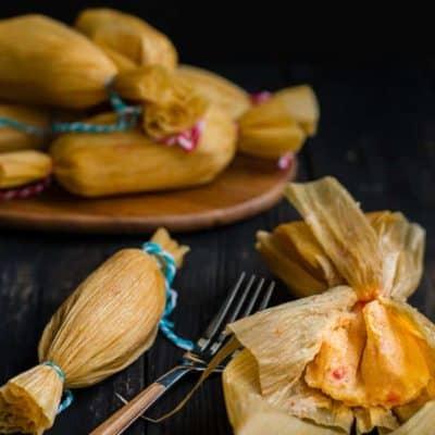 Easy Venezuelan Pepper Tamales