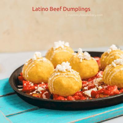 Latino Beef Dumplings