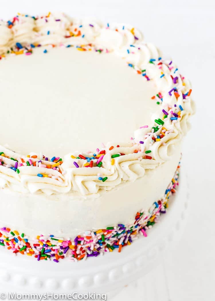 This Eggless Vanilla Cake Recipe Is The Its Sweet Ery Flavor And Light