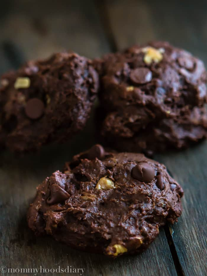 Doble Chocolate Chunk Walnut Cookies-4