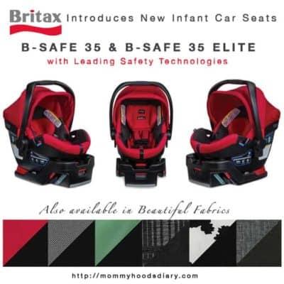 Britax Introduces New Infant Car Seats: B-Safe 35 {Giveaway}