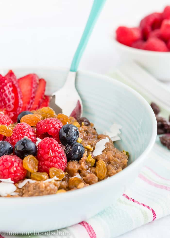 Quinoa Breakfast Bowl-6