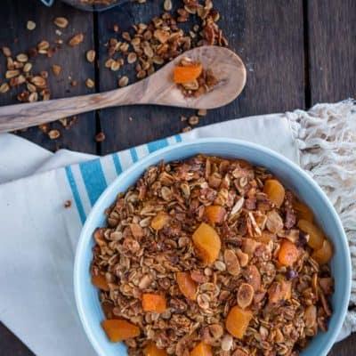 Coconut Apricot Granola