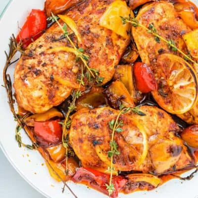Easy Peri Peri Chicken Breasts