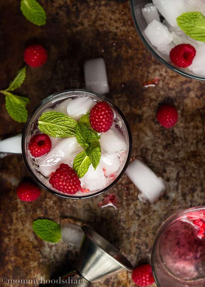 Vodka Raspberry Mojito-3