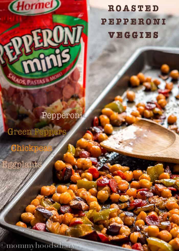 Roasted Pepperoni Veggies Naan with Avocado Tzatziki   Mommyhood's Diary