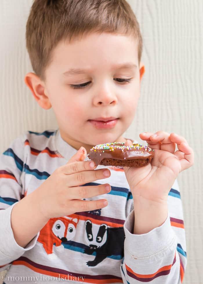 Rosquillas de Chocolate para Pascuas - Sin Huevo-4