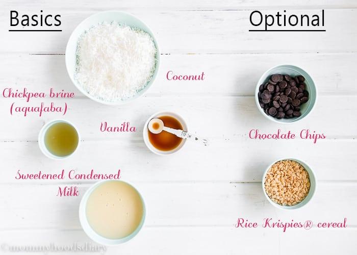 Eggless-Coconut-Macaroons-3-Ingredients