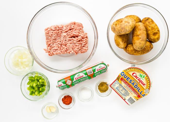 Pork-Chorizo Potato Skins-1