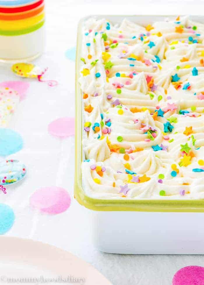 Eggless Congetti Cake-3