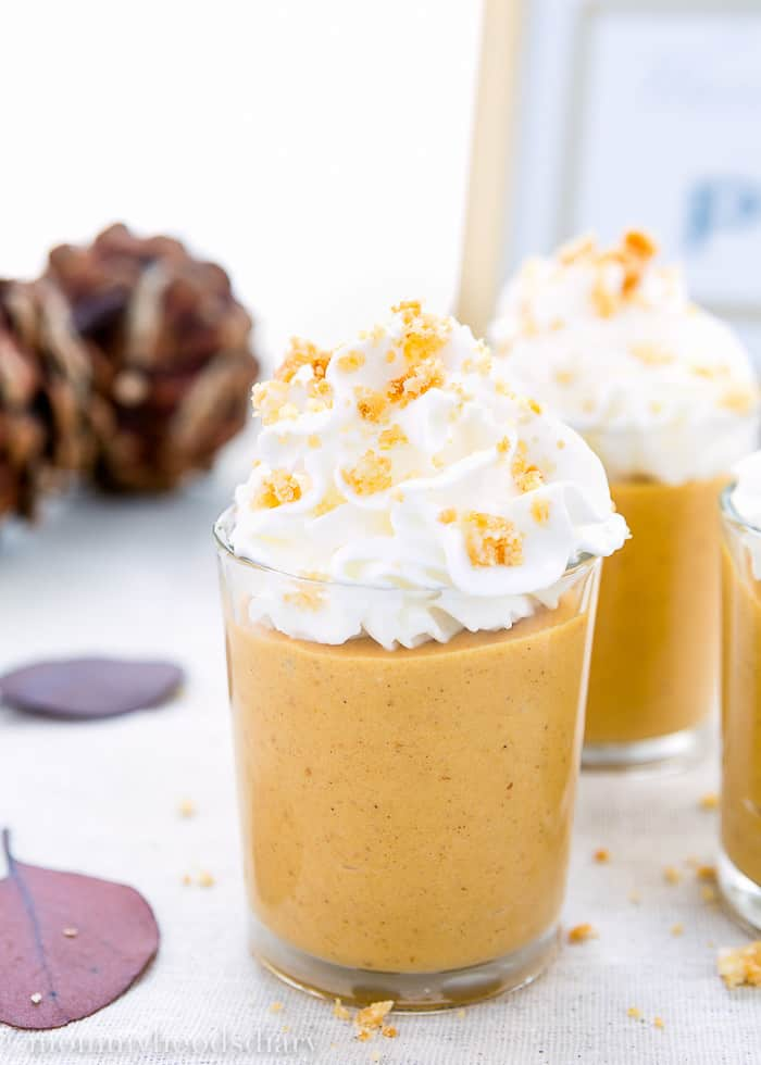 Pumpkin Pie Milkshake Shots | Mommyhood's Diary