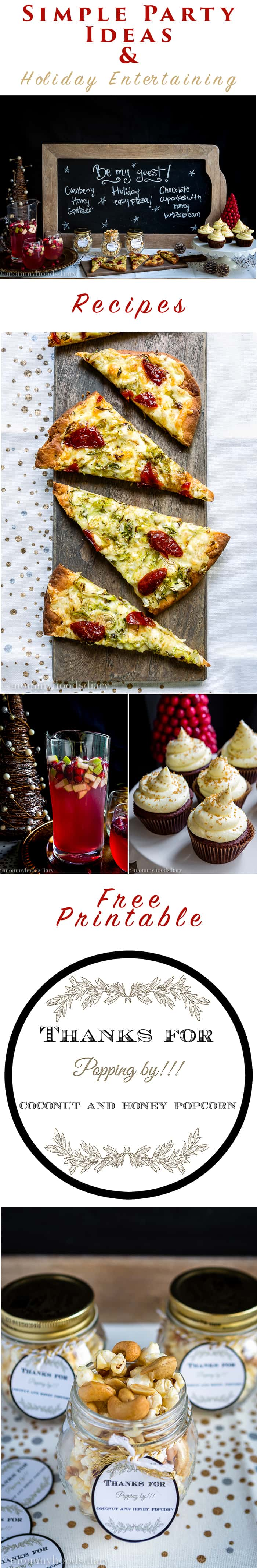 Simple Party Ideas and Holiday Entertaining   Mommyhood's Diary
