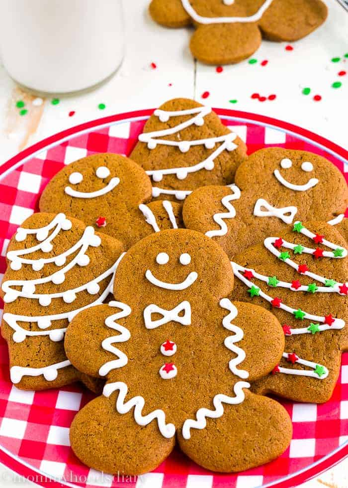 Eggless Gingerbread Cookies-2