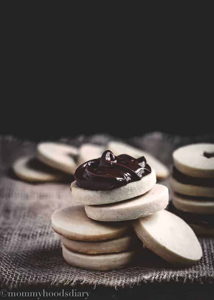 Eggless Shorthbread Cookies-11