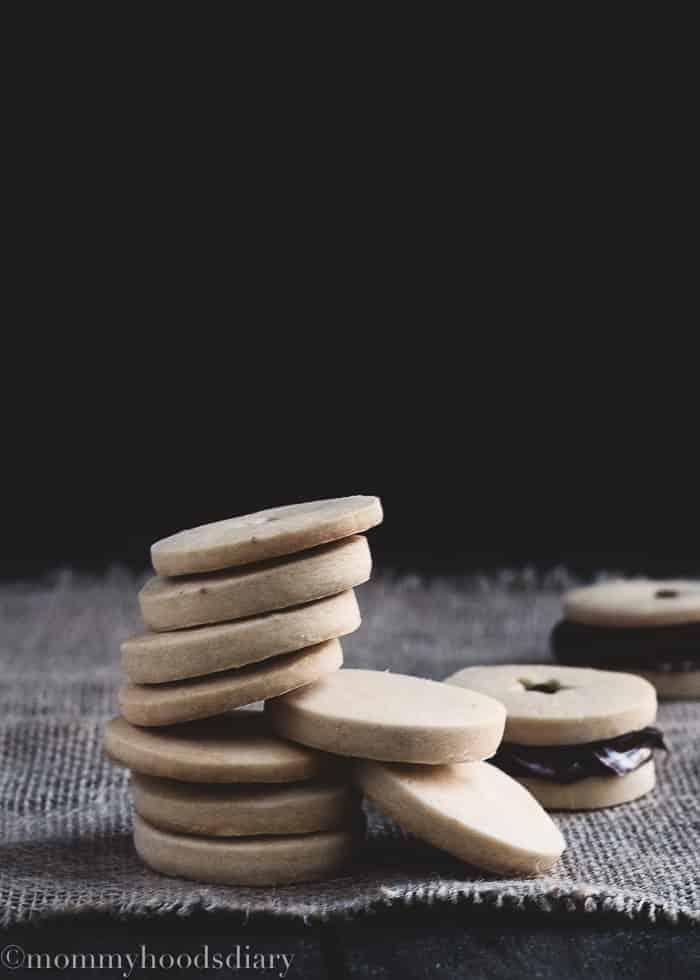 Eggless Shorthbread Cookies-13