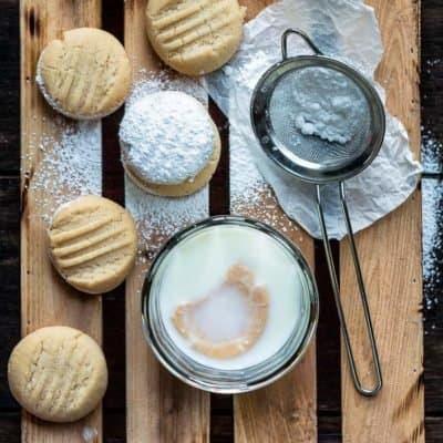 Venezuelan Polvorosas Cookies