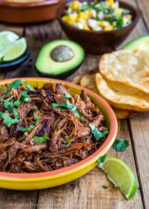 Slow Cooker Spicy Pork Carnitas