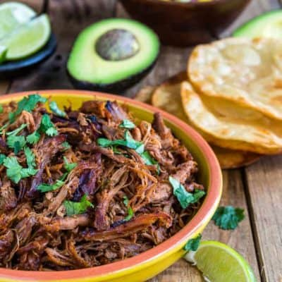 Slow Cooker Spicy Pork Carnitas