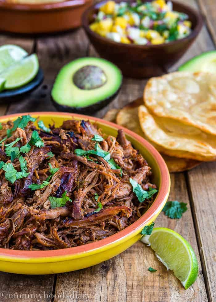 Slow Cooker Spicy Pork Carnitas | Mommyhood's Diary