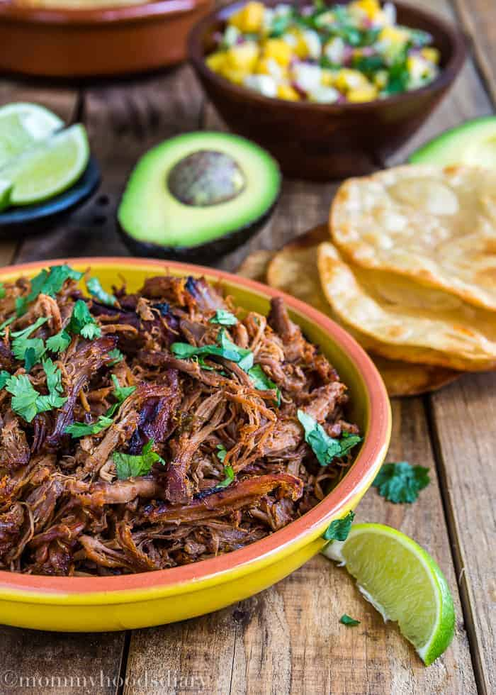 Slow Cooker Spicy Pork Carnitas-1