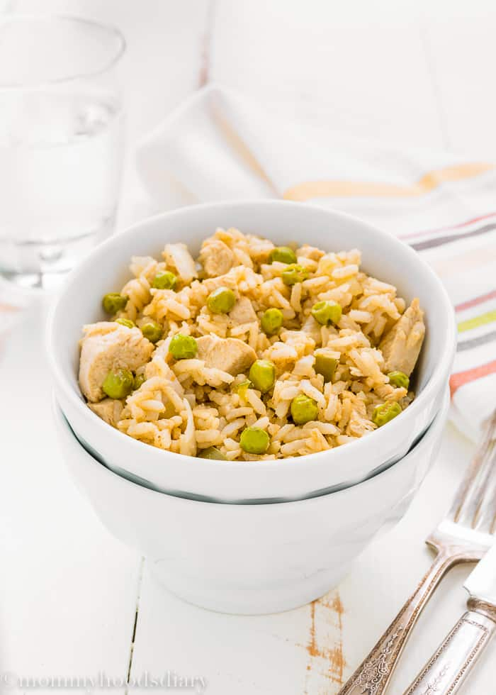 Easy Skinny Arroz con Pollo-3