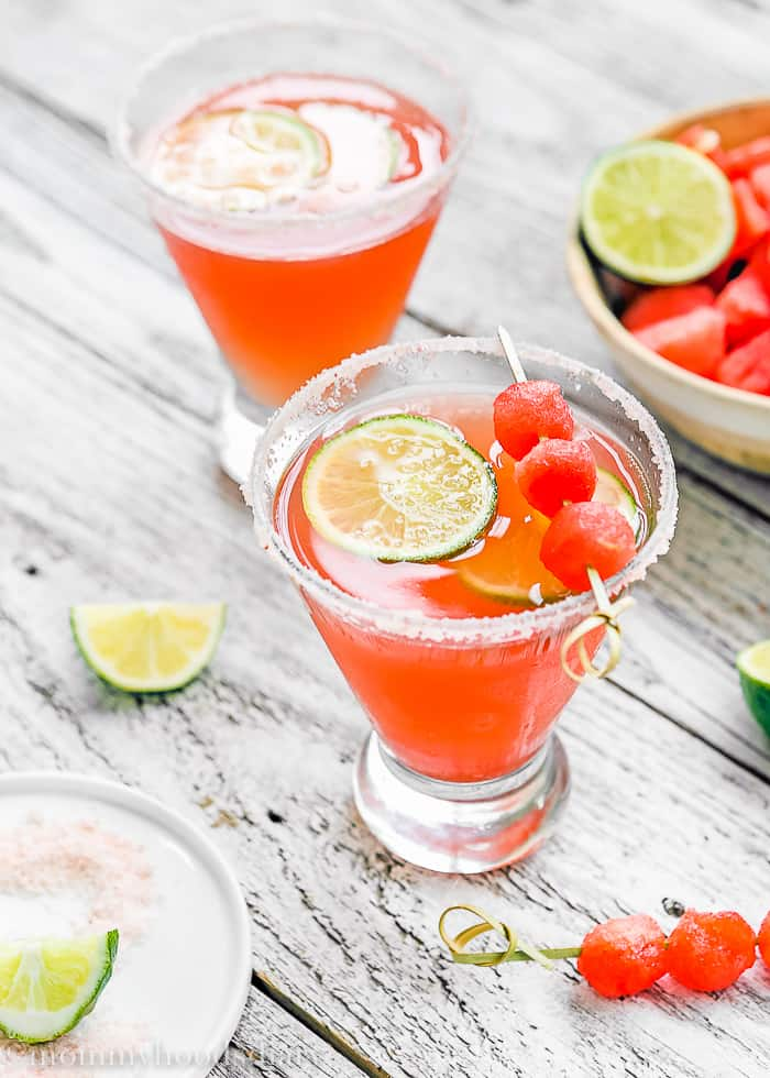 Watermelon Summer Splash Cocktail | Mommyhood's Diary