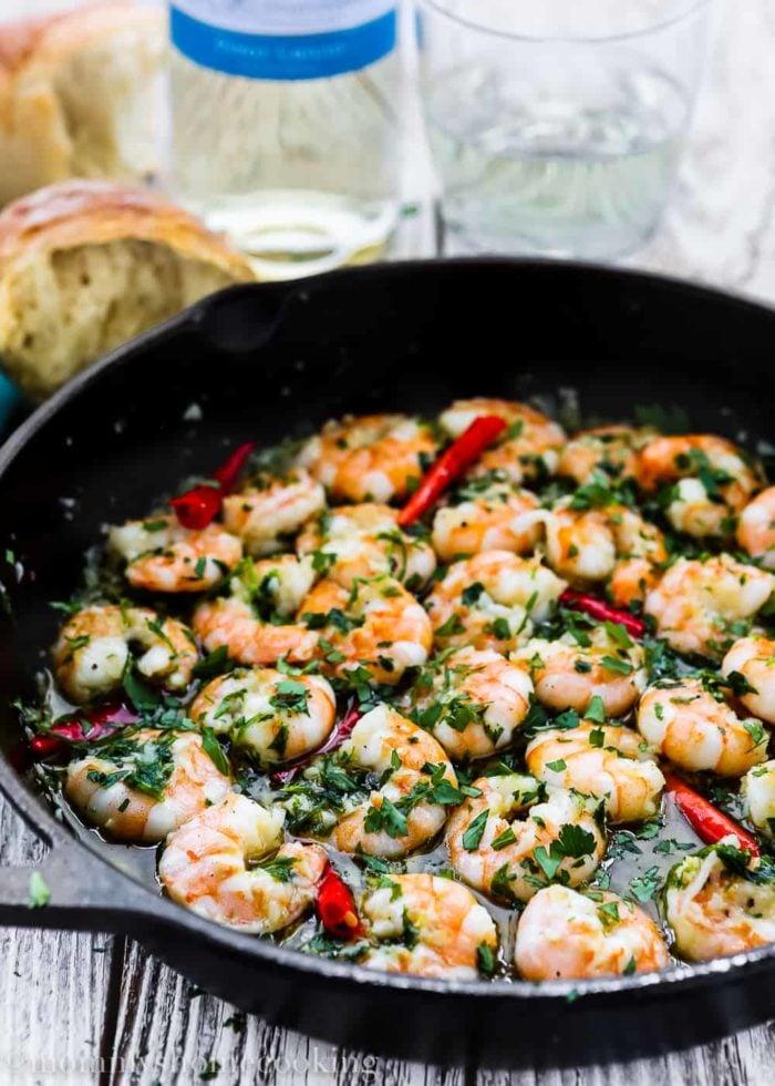 Spanish Style Garlic Shrimp-9