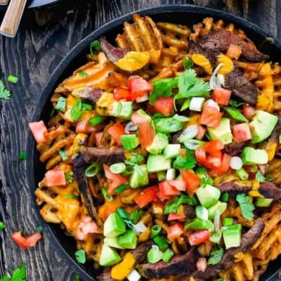 Carne Asada Fries Nachos