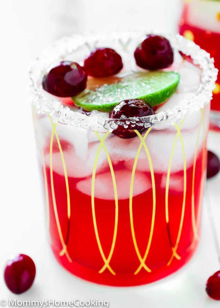 Roasted Cranberry Margaritas-5