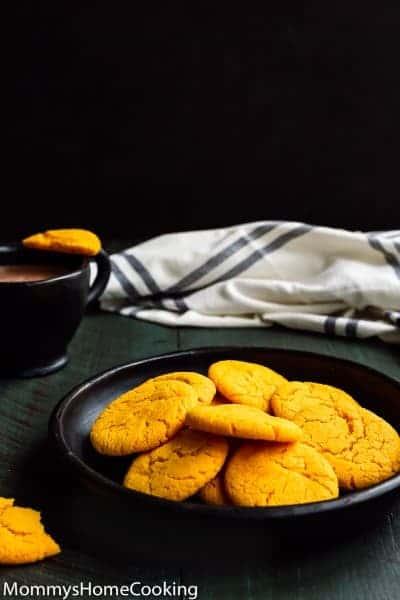 Eggless Flan Cookies