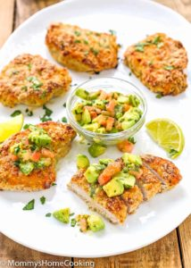 Skinny Oven Fried Pork Chops