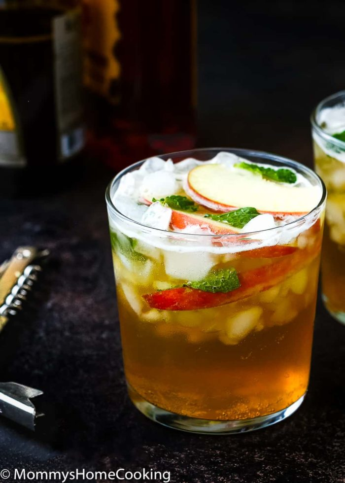 This effervescent​ Apple Firebeer Cocktail has a variety of flavors that will get party started. It's a deliciously easy cocktail that can be stirred up in seconds, with only 3 ingredients. http://mommyshomecooking.com
