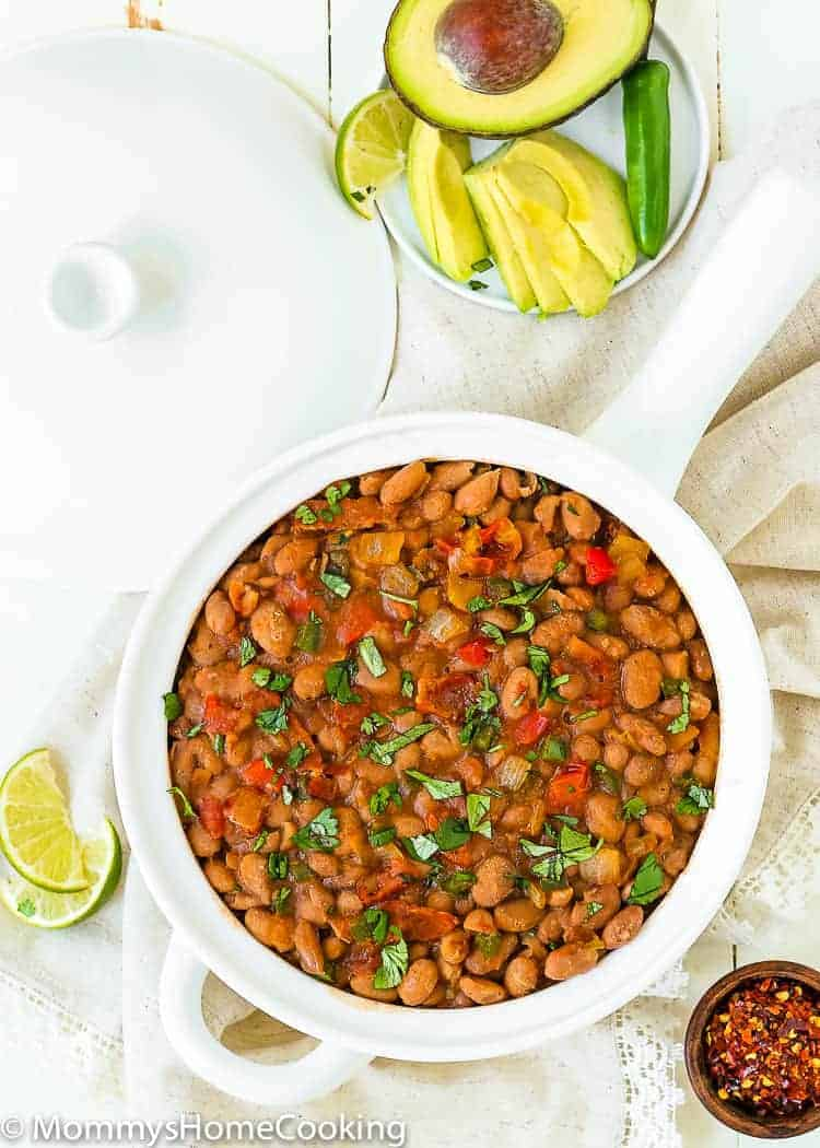 This crock pot chicken taco chili is one of my most popular recipes! The perfect slow cooker dish because you just dump all the ingredients in, turn it on and come back to the best tasting meal!