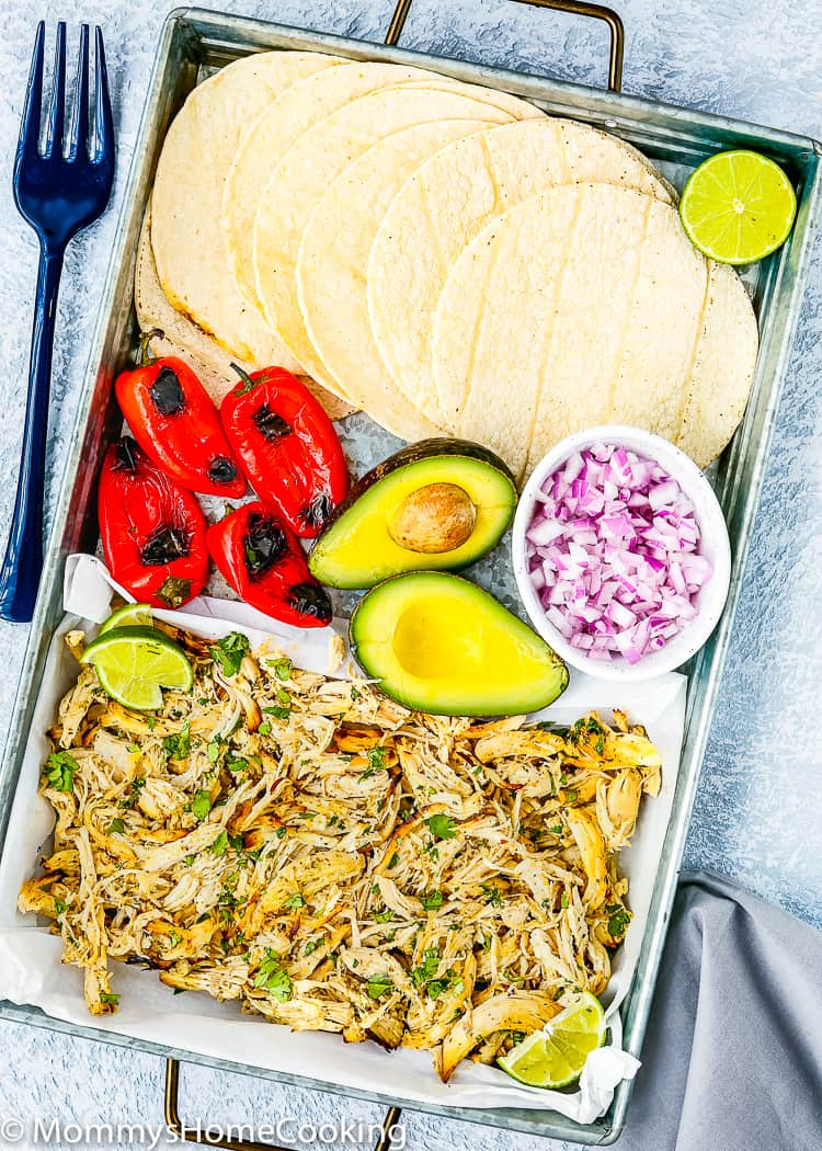 These Mojo Chicken Tacos are deliciously inspired by the flavors of the Cuban Mojo. Tender, juicy, and bold-flavored chicken, wrapped in a warmed corn tortilla…These tacos are a taste of paradise any day of the week! http://mommyshomecooking.com