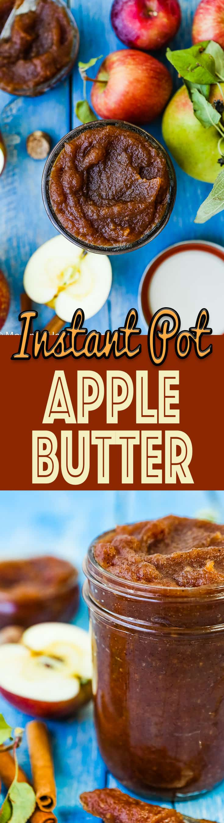 This Easy Instant Pot Apple Butter is tremendous velvety, smooth, spiced, and tasty. Perfect for spreading on toast, muffins, pancakes, crackers, etc. Ready in 20 minutes. It's pure apple goodness at its best. http://mommyshomecooking.com