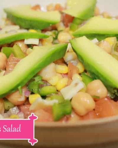 Chickpeas Salad Recipe