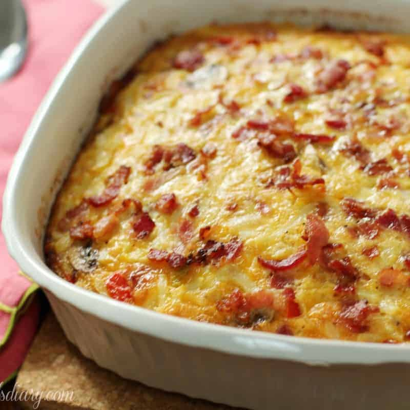 Egg, Bacon and Potato Breakfast Bake | Mommmyhood's Diary