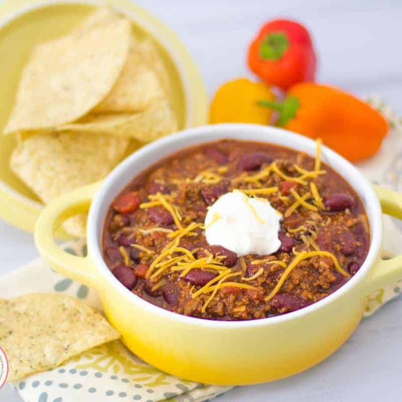 Easy Beef Chili   Mommyhood's Diary